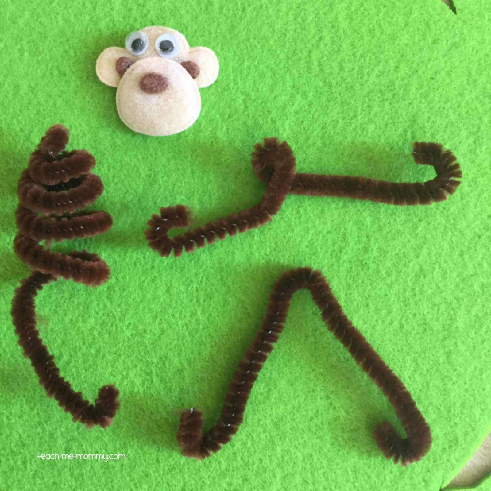 pipecleaner monkey