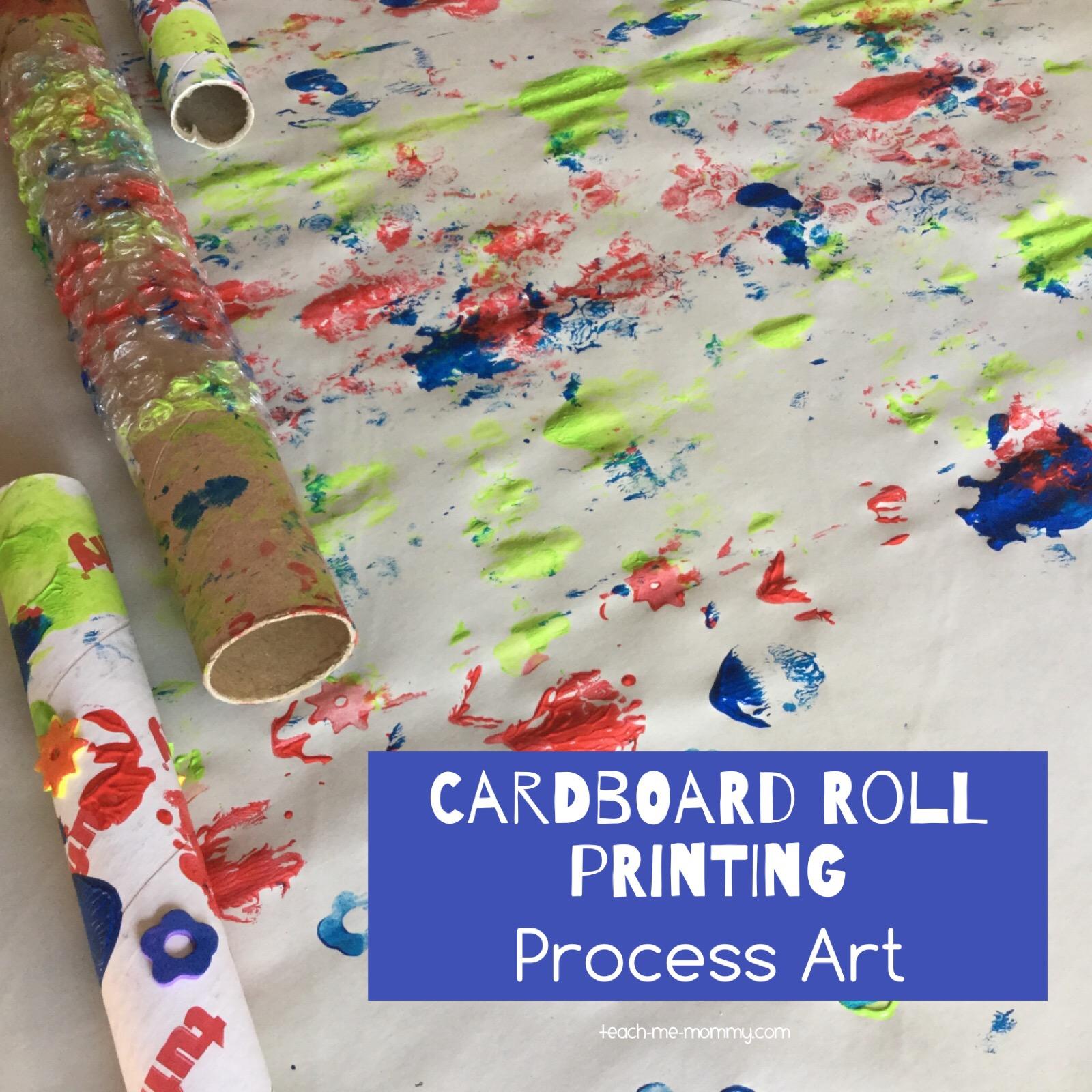 cardboard roll printing