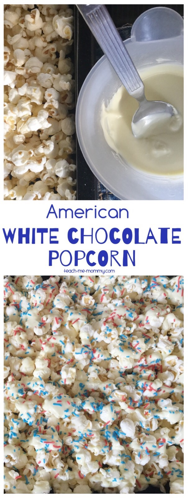 white chocolate popcorn