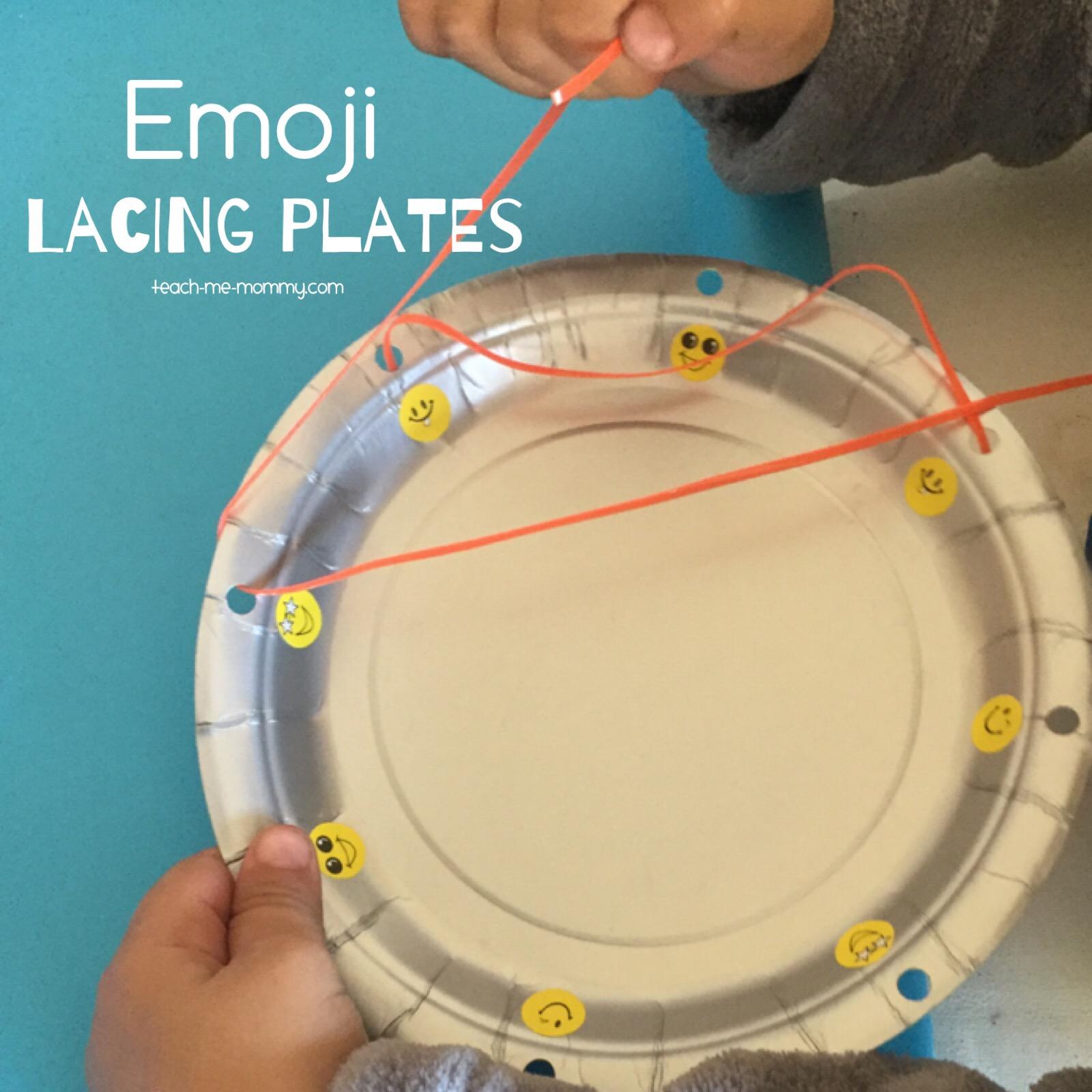 lacing plates