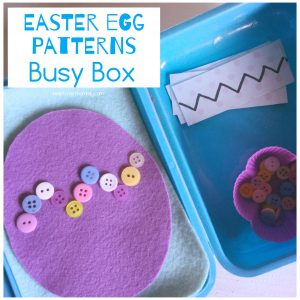Easter eggs Busy Box