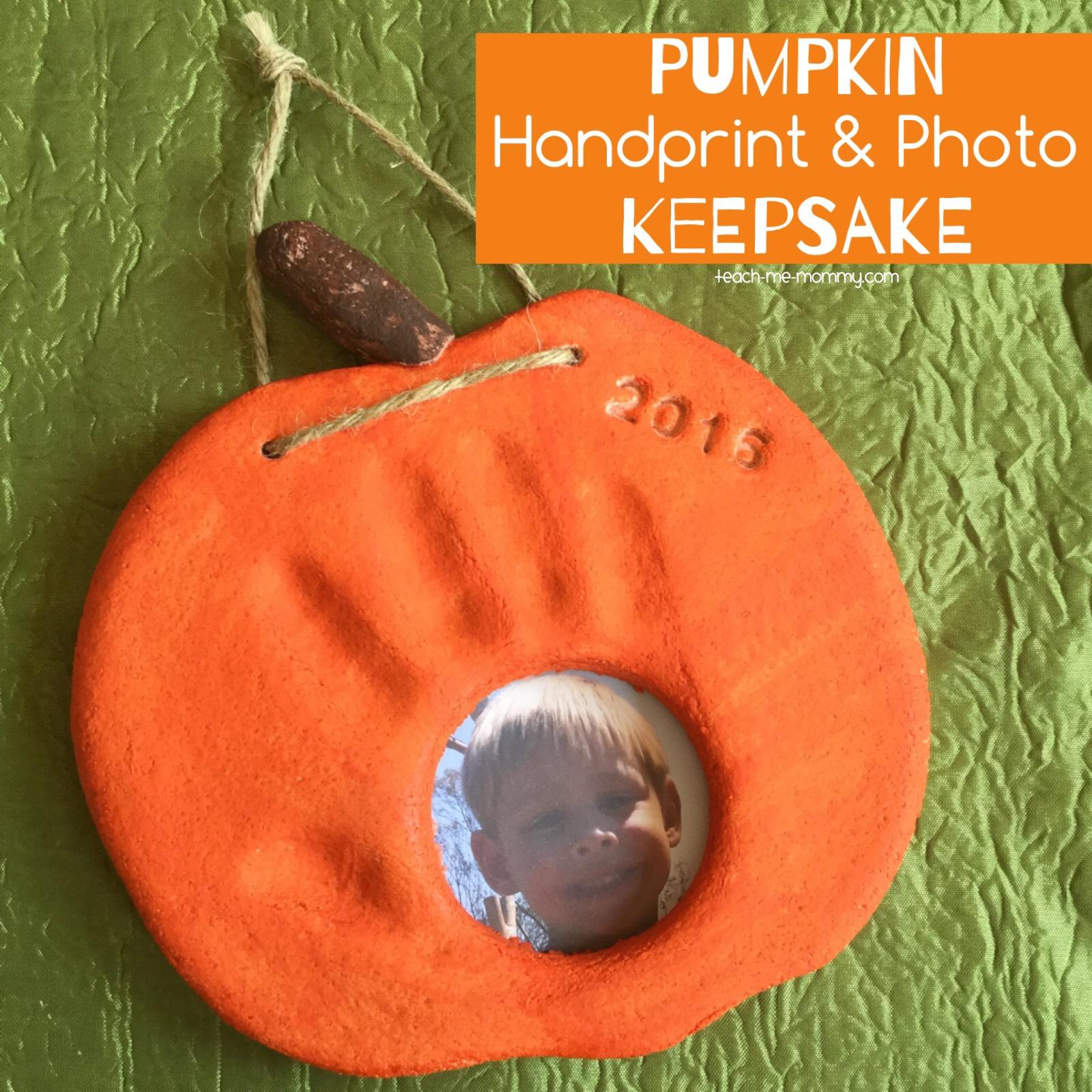 pumpkin keepsake