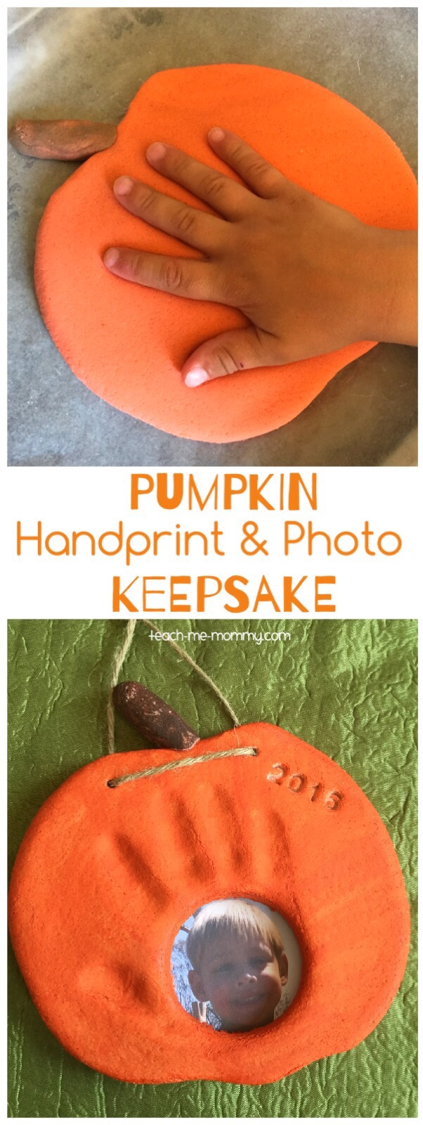 pumpkin keepsake