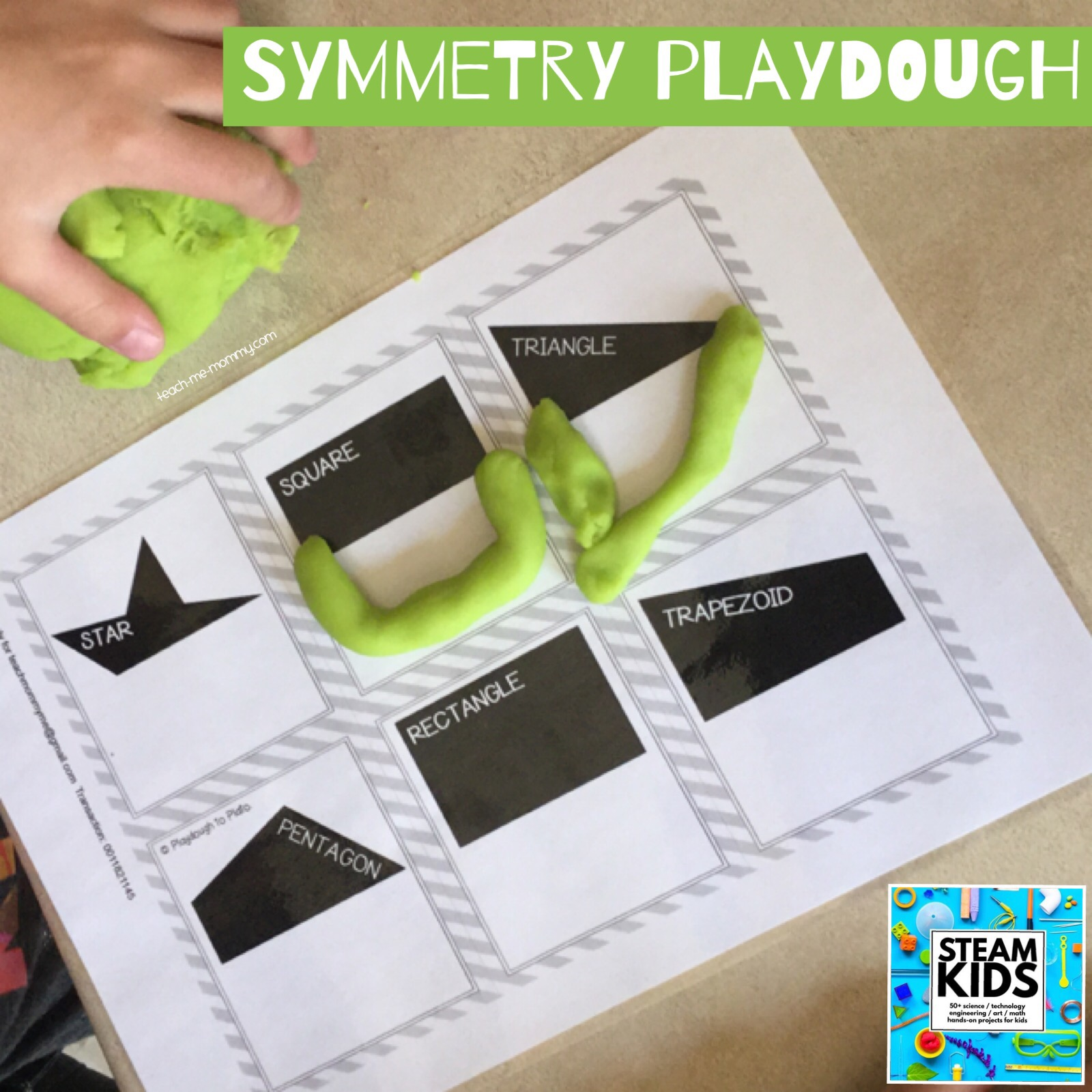 playdough activity