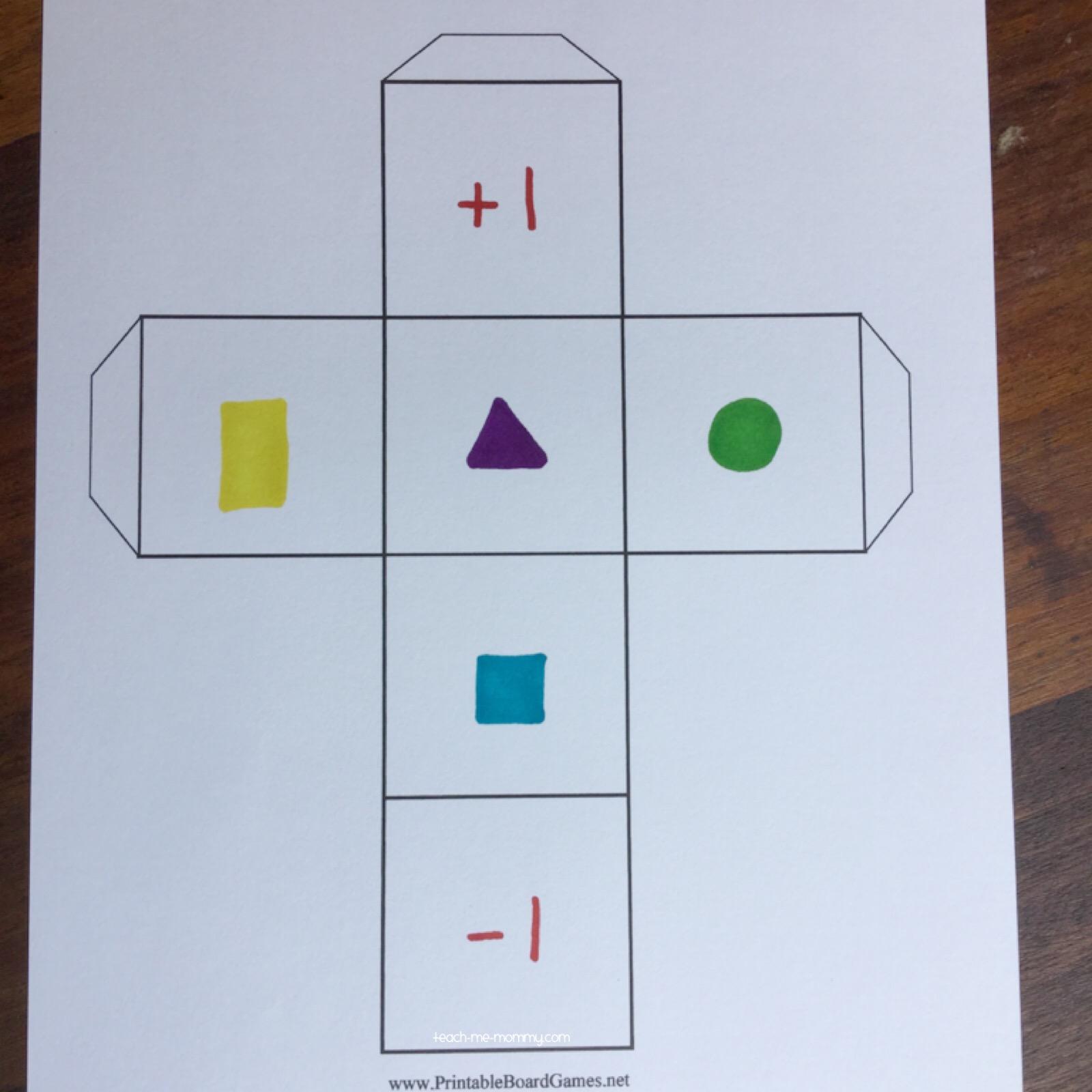 shape dice