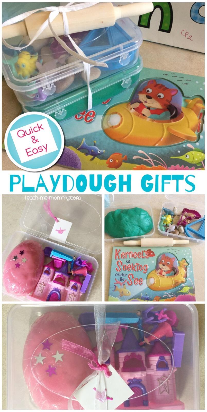 playdough gifts