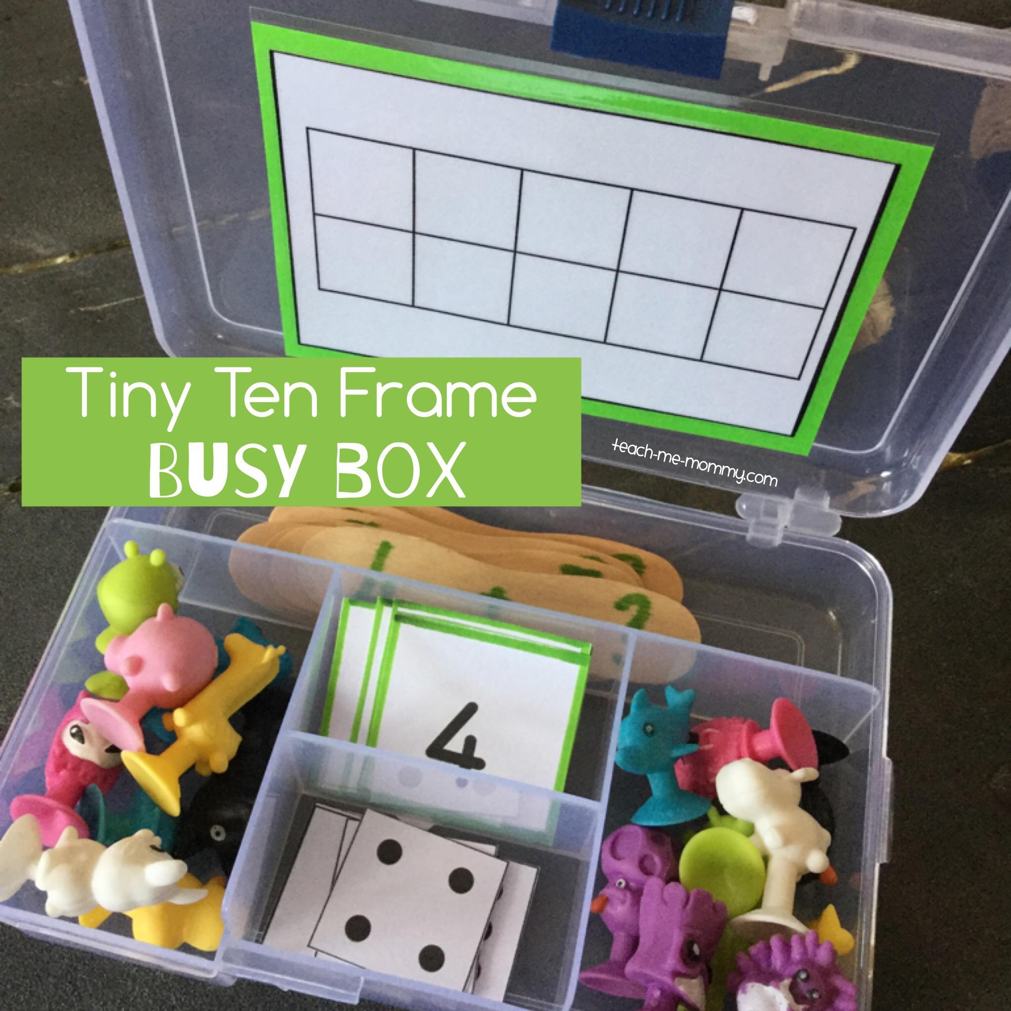 ten frame busy box