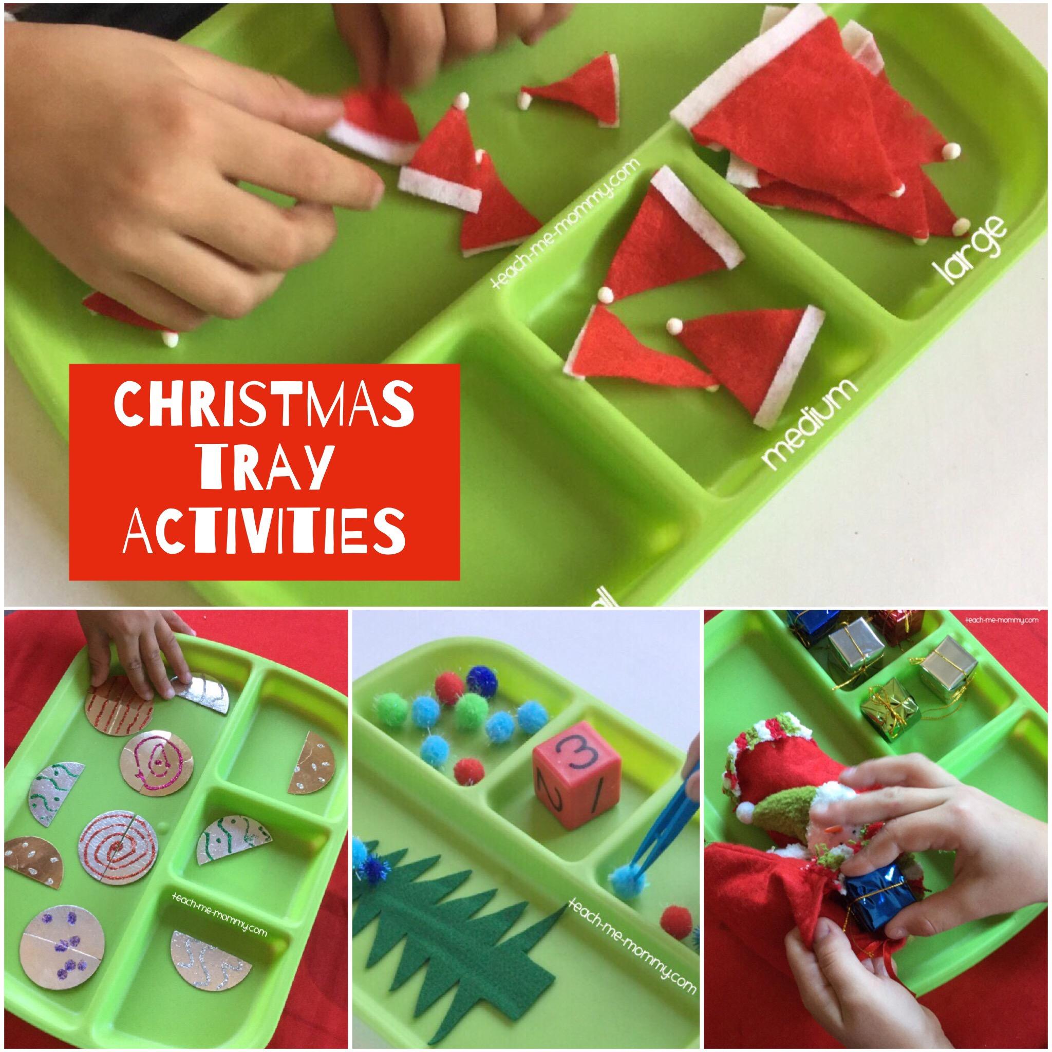 tray activities