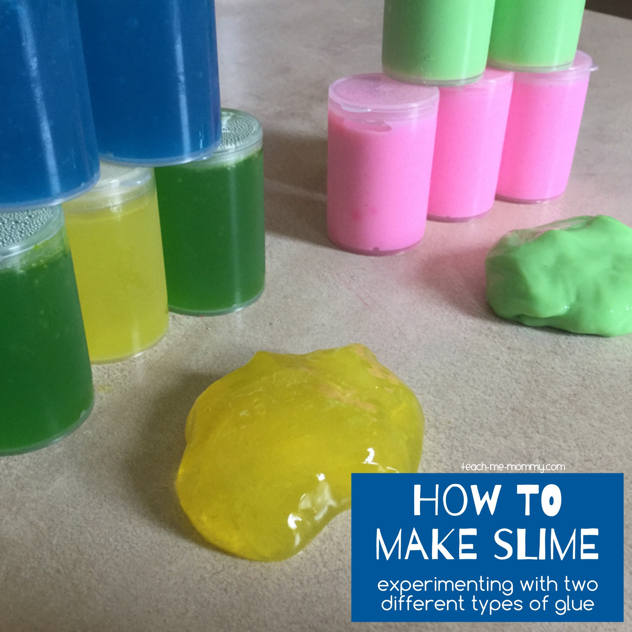 How to make slime - Teach Me Mommy - photo#5