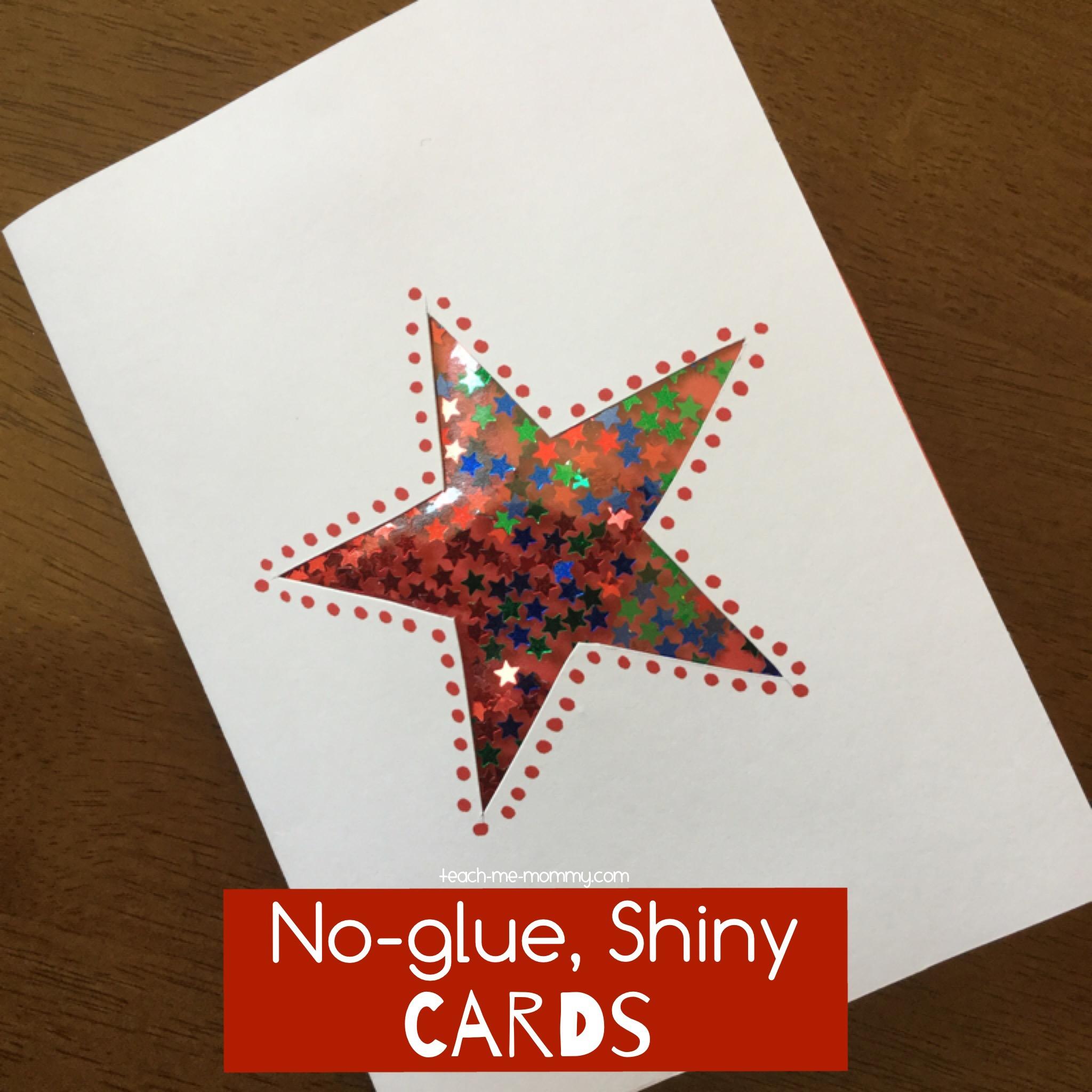 shiny card