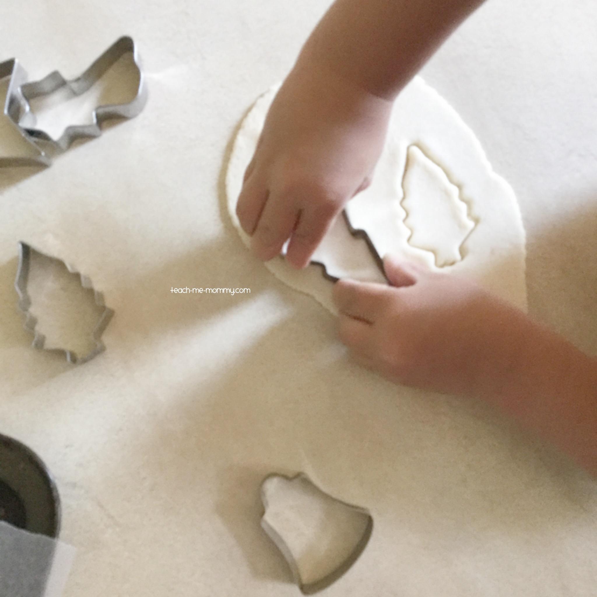 salt dough shapes