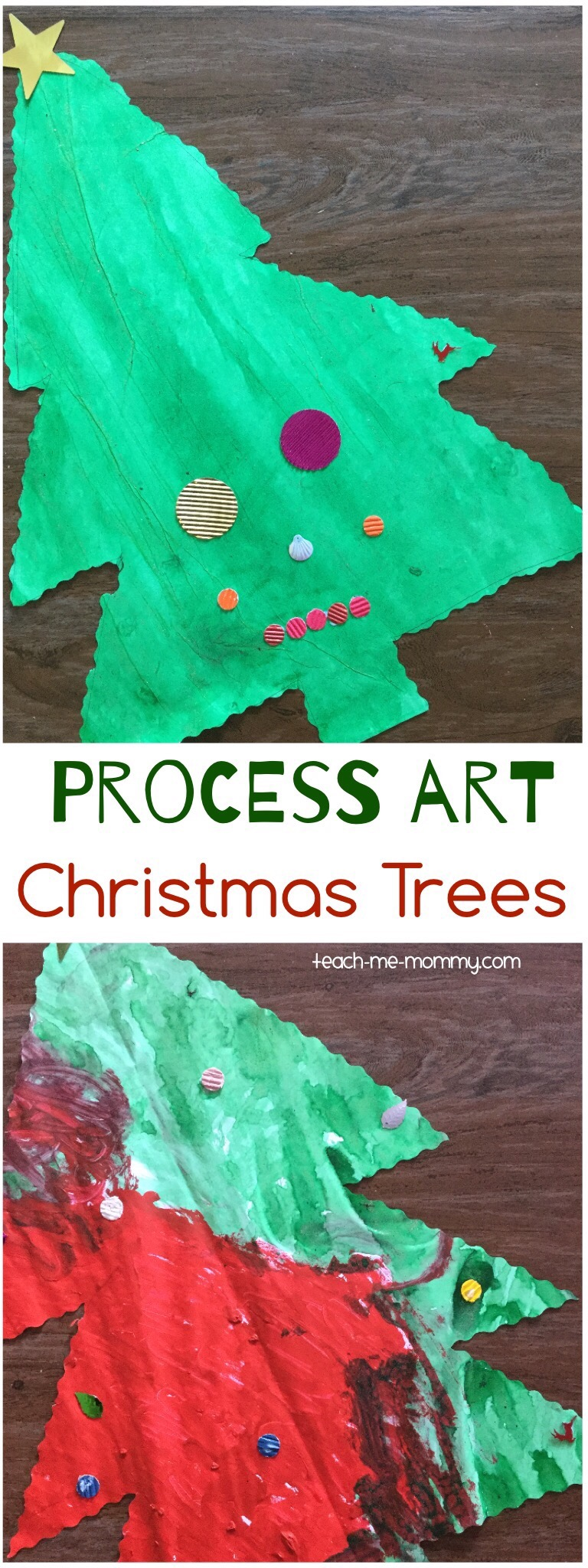 process art trees