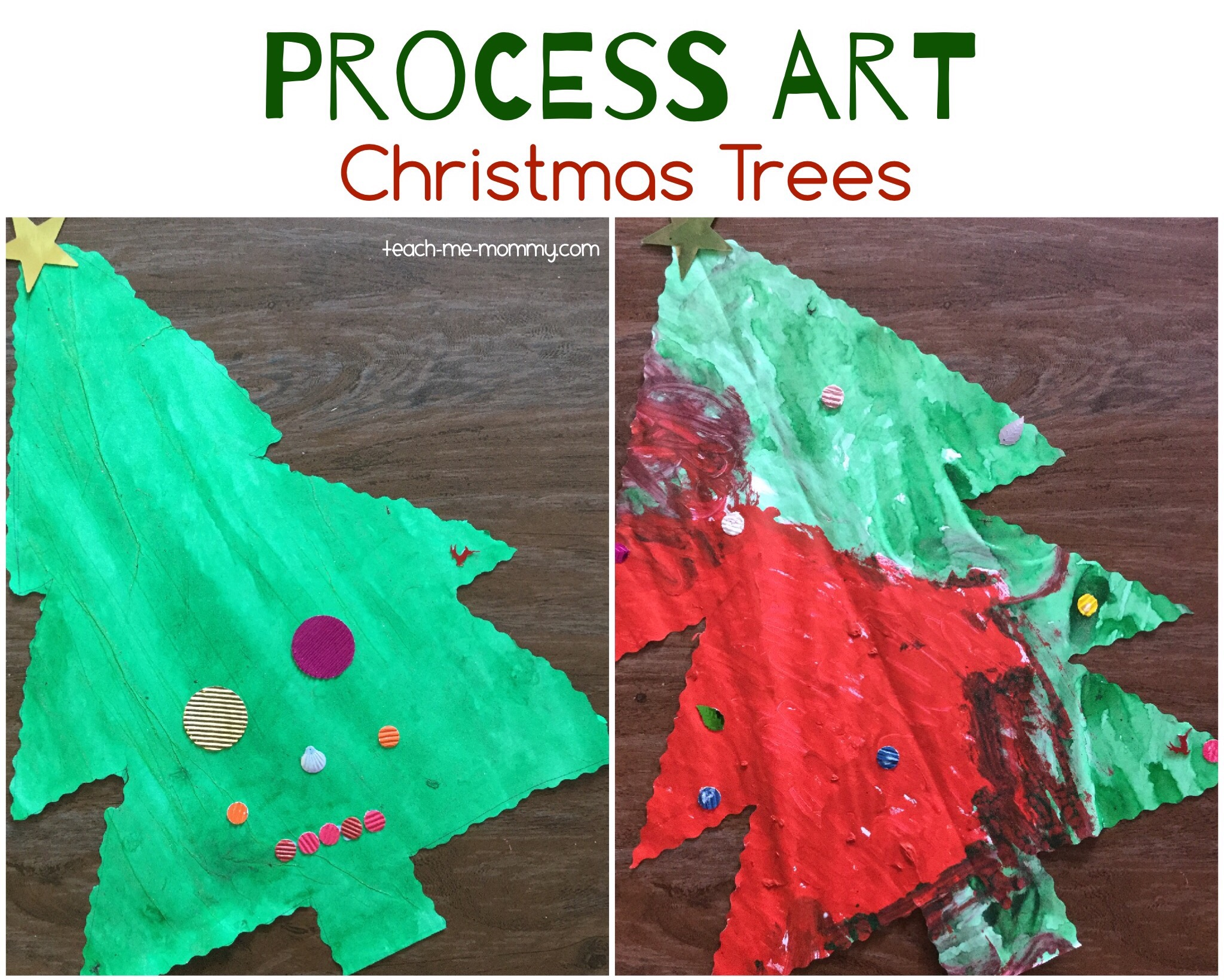 christmas trees art