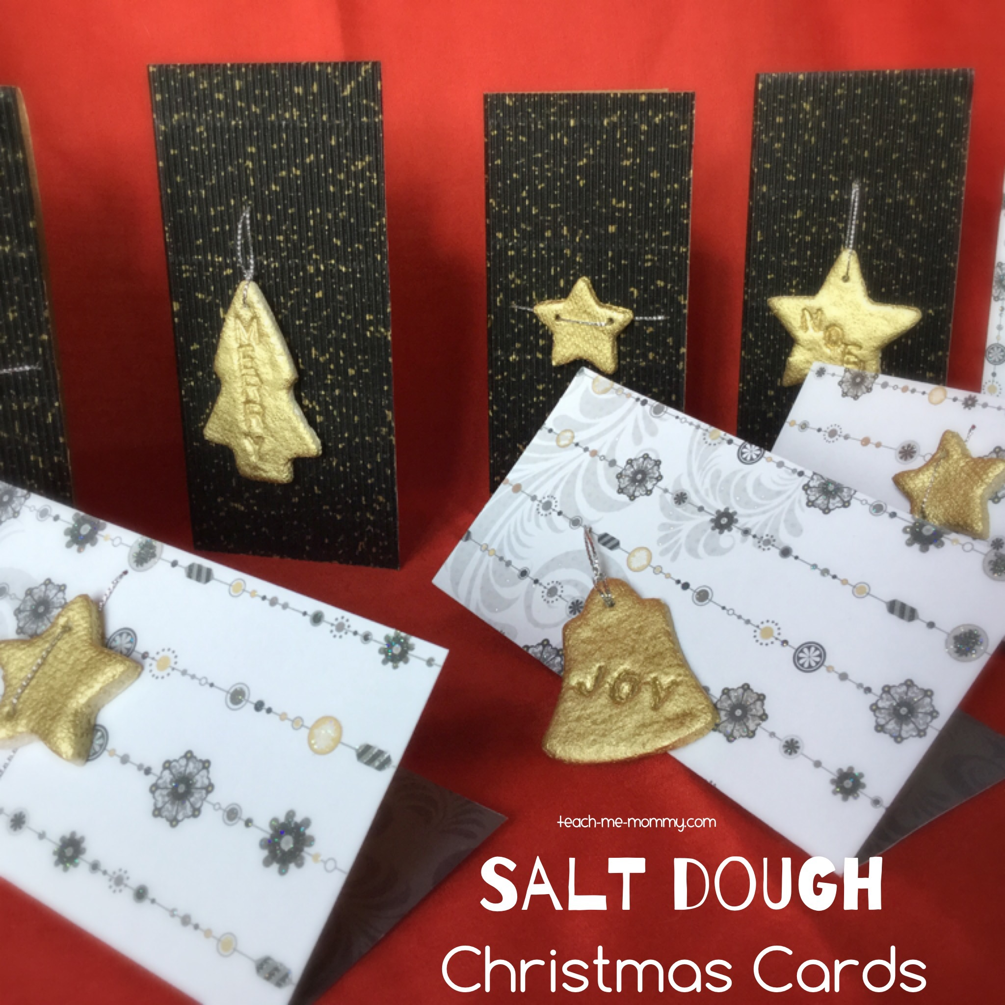 salt dough cards