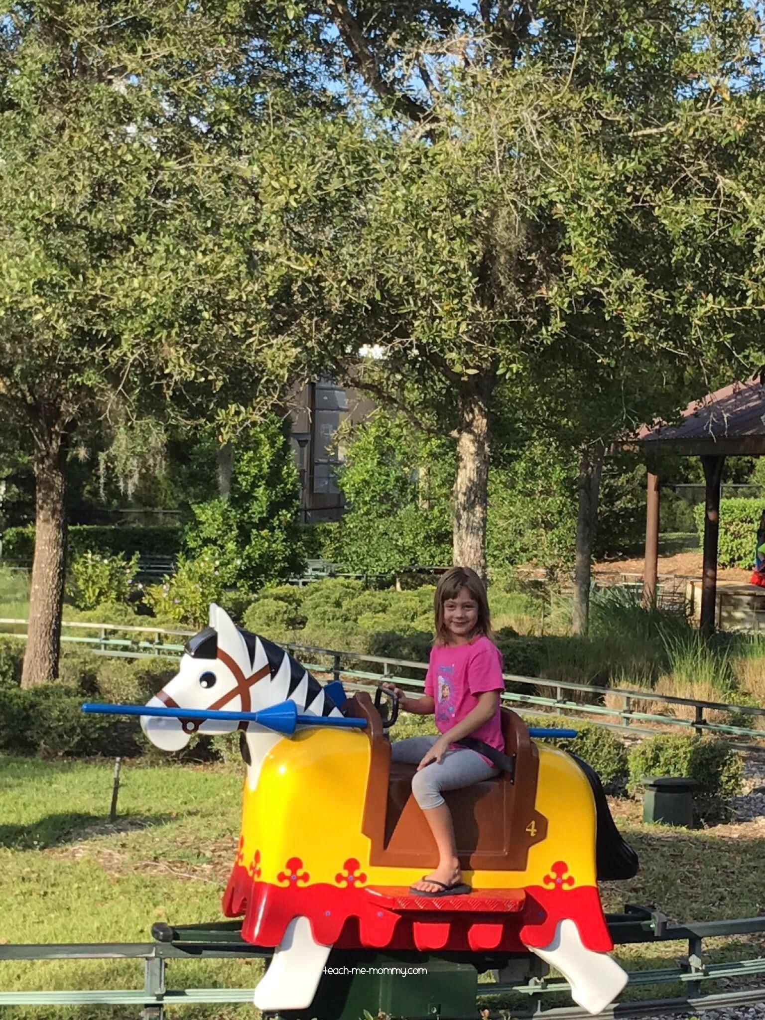 calming ride