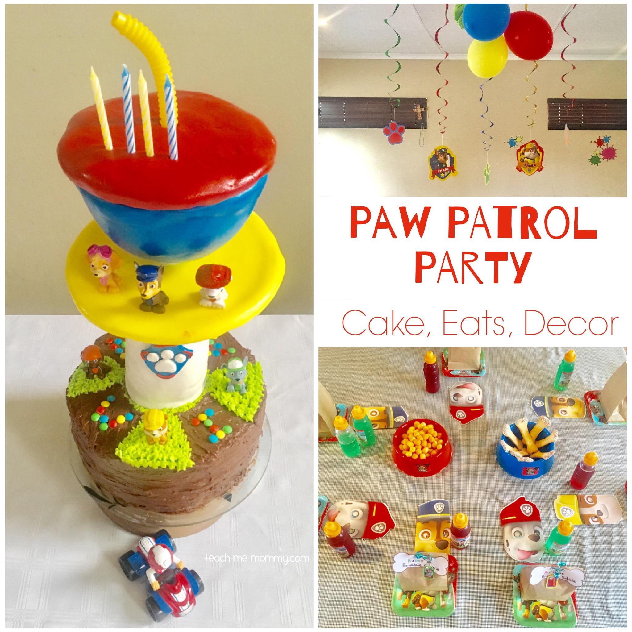 paw patrol pawty