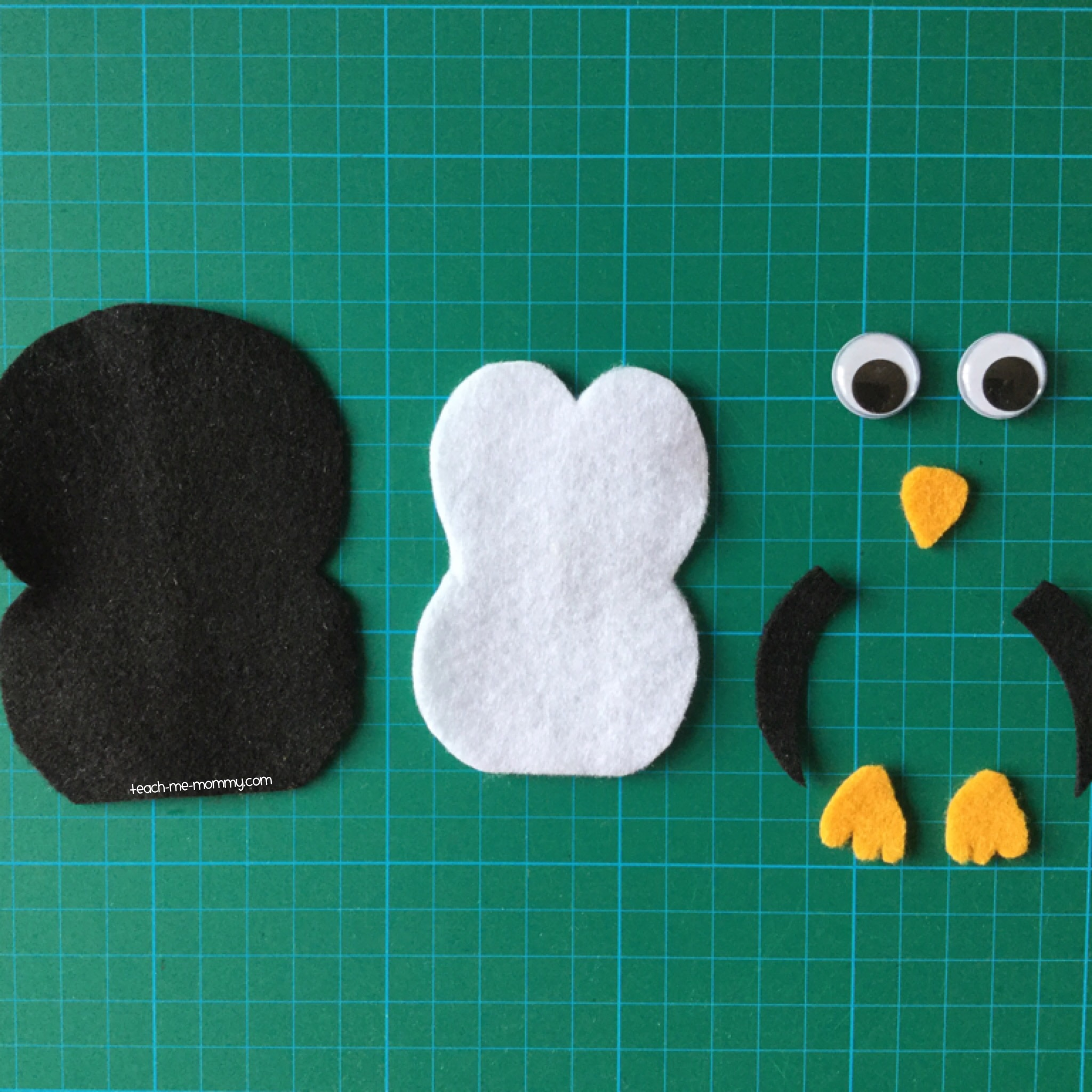 Penguin pieces