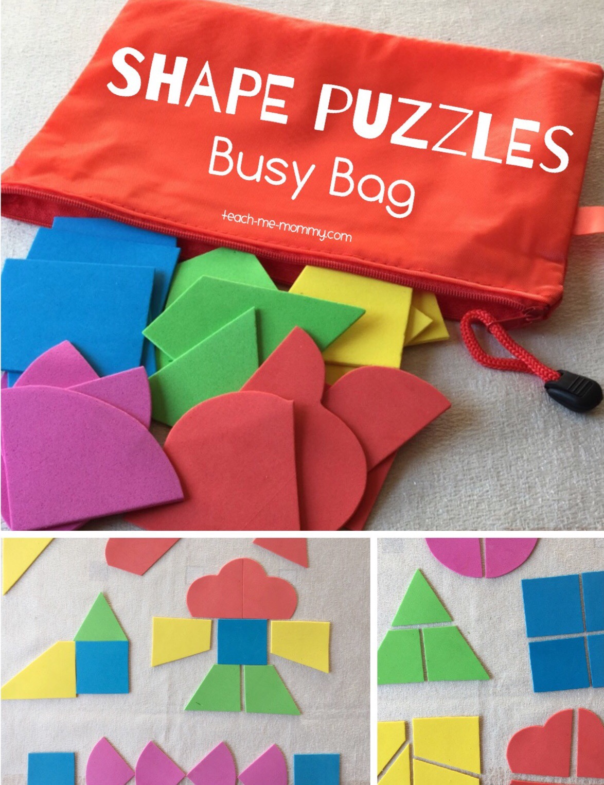 Shape busy bag