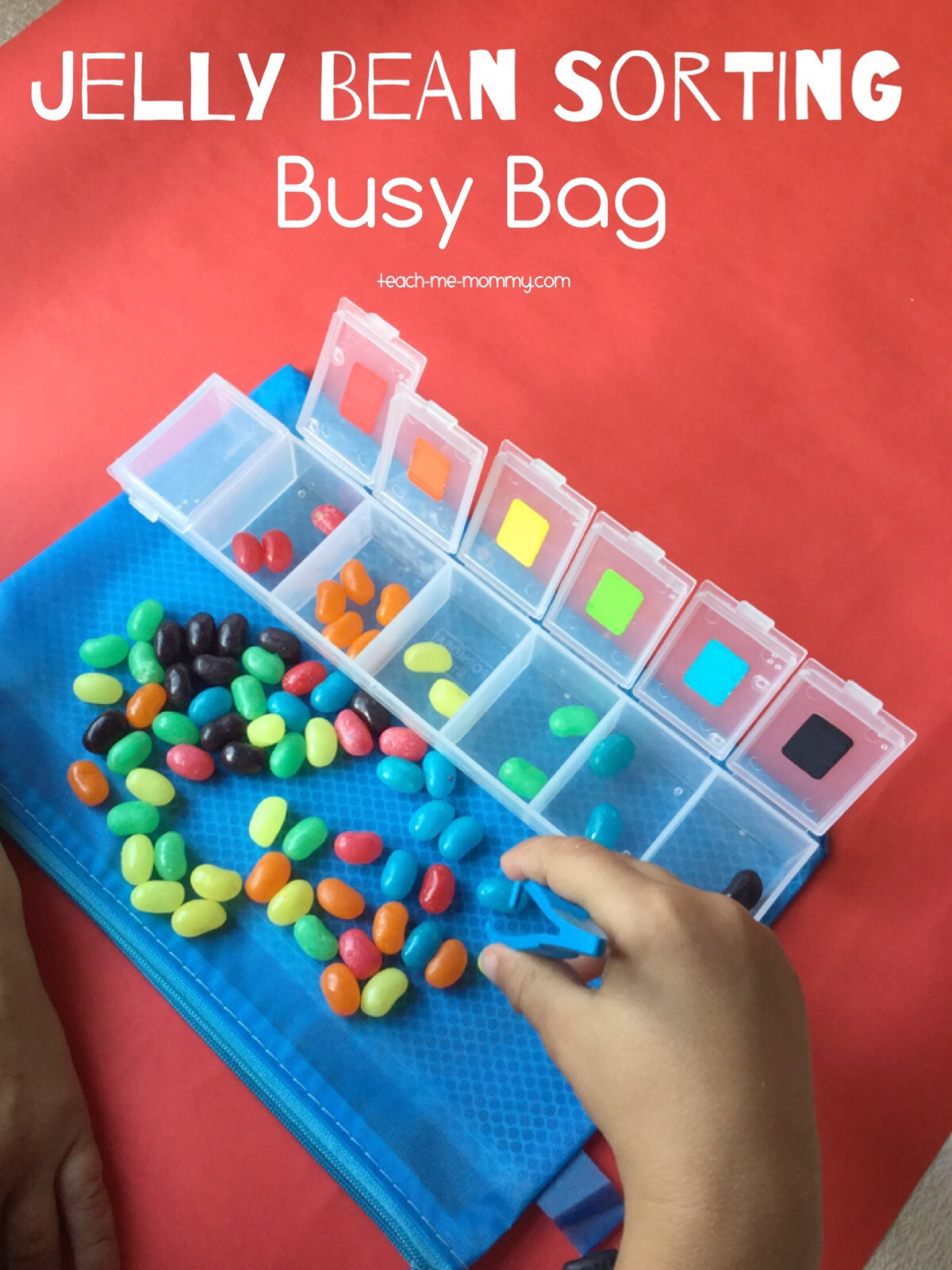 Jelly bean Busy Bag