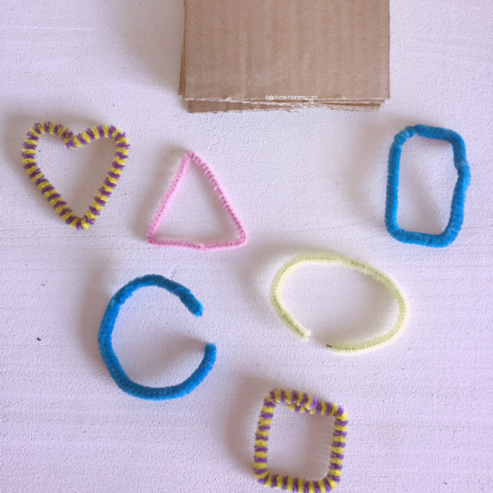 Pipecleaner shapes