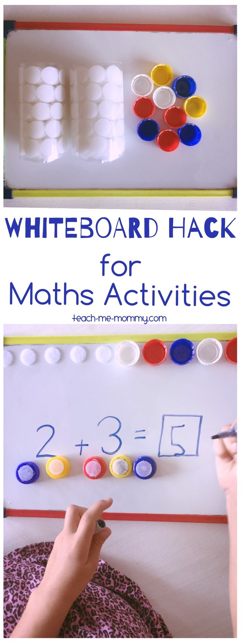 Whiteboard Hack for Maths Activities