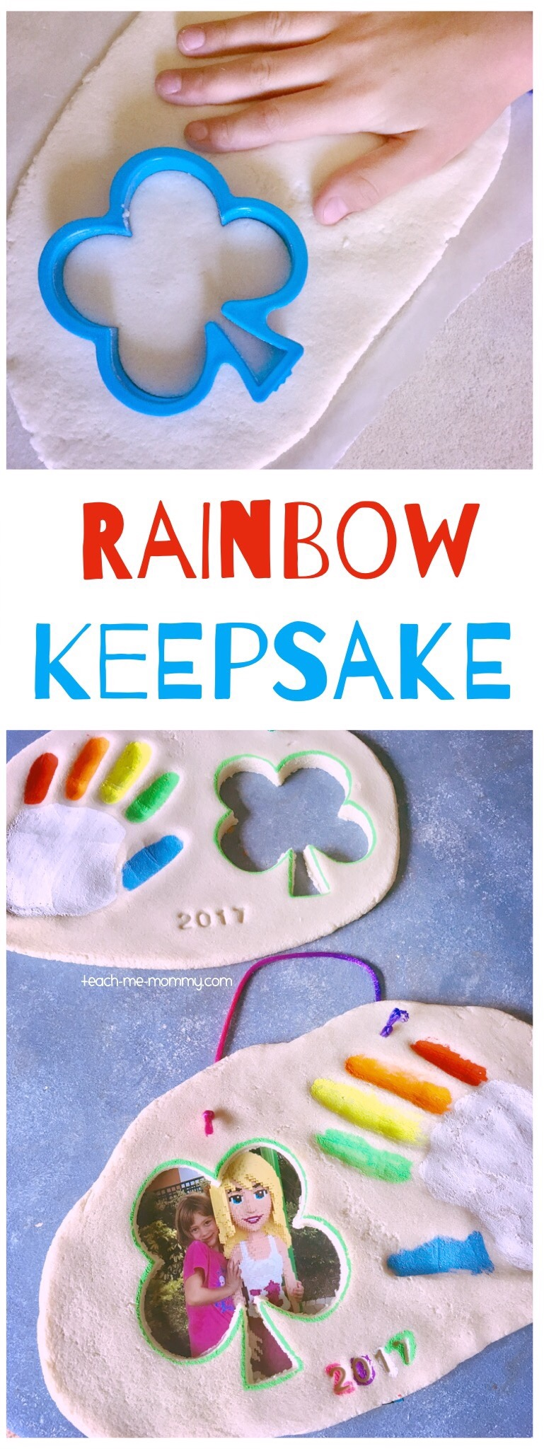 Rainbow keepsake