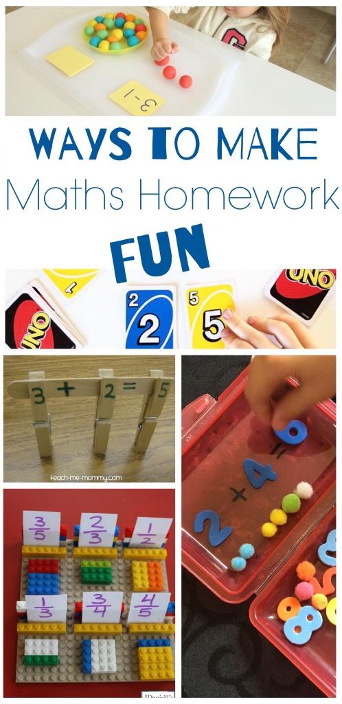Homework fun