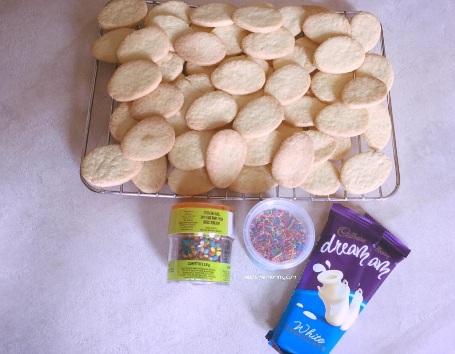 Cookies and sprinkles