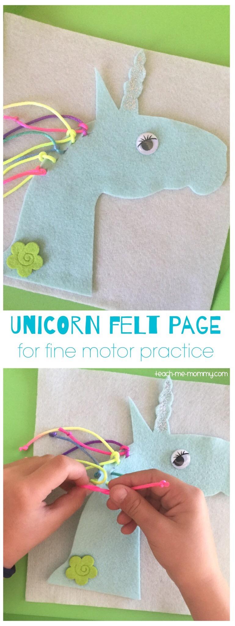 Unicorn Felt page
