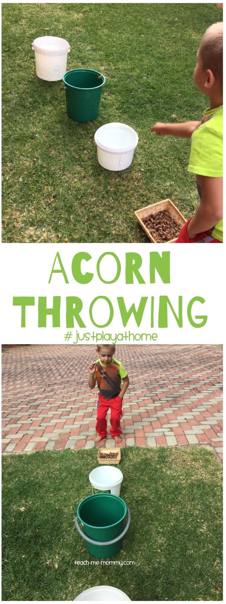 Acorn Throwing