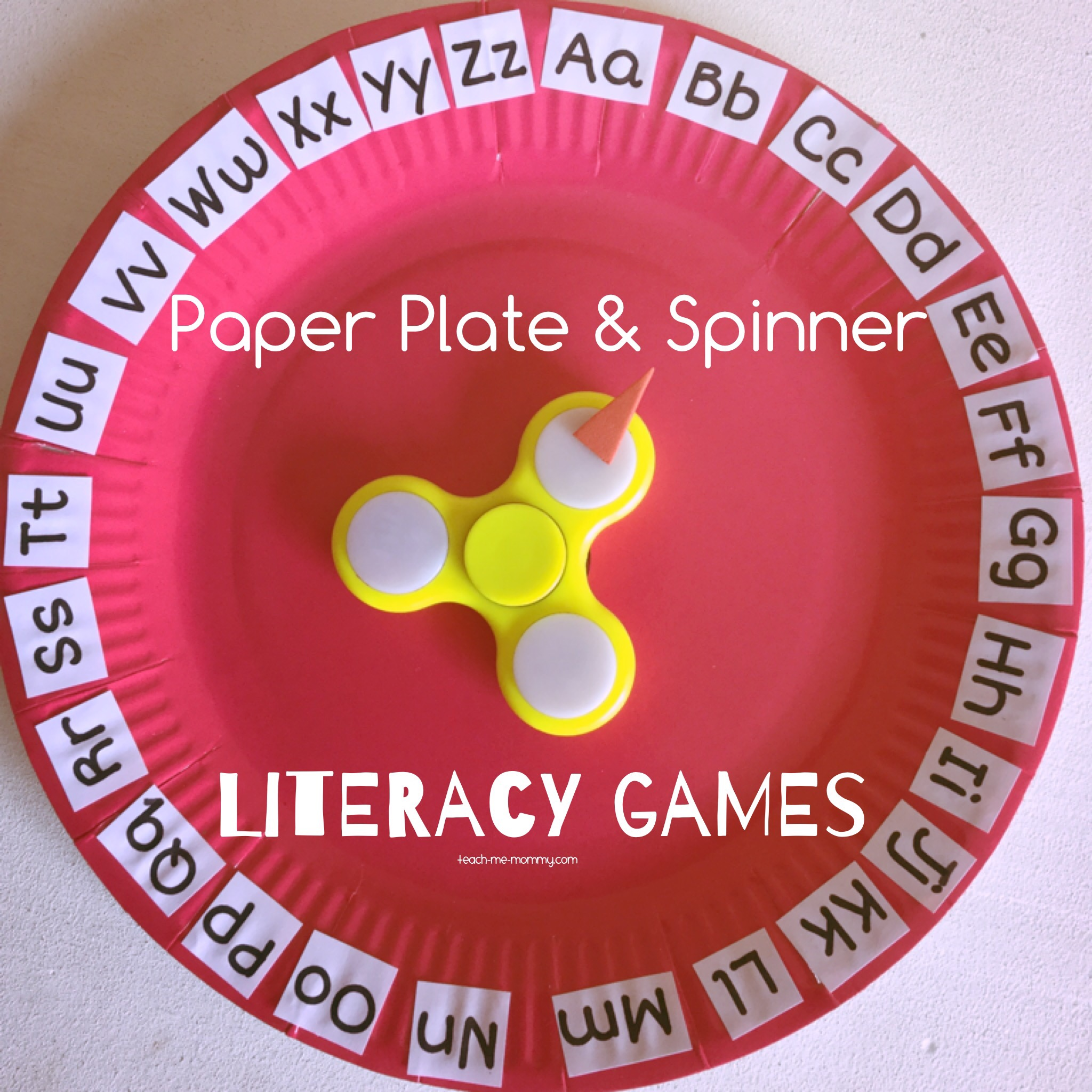 Plate and spinner games