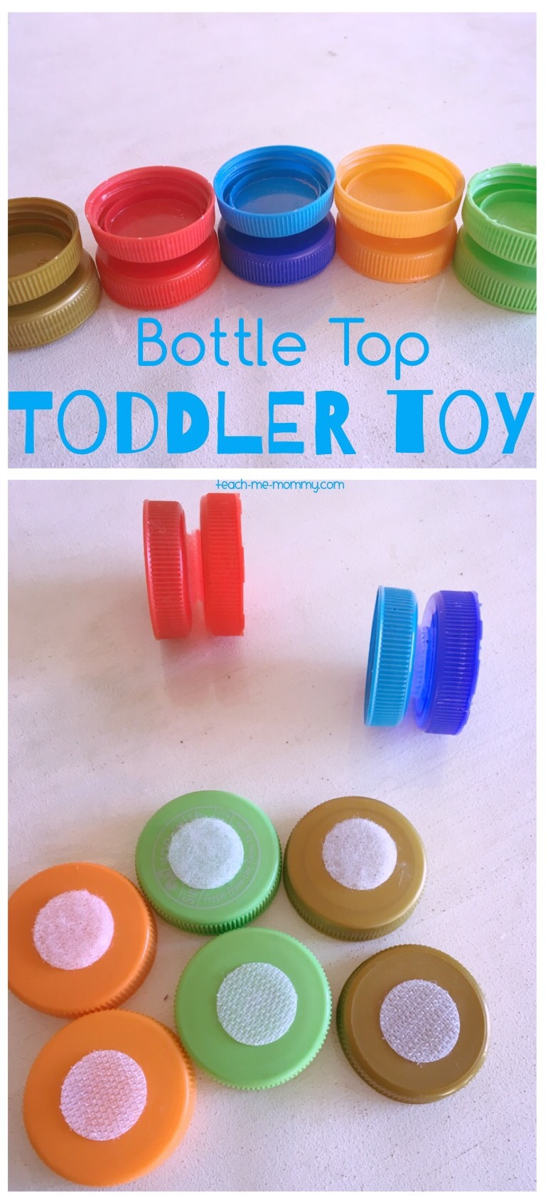 Bottle Top toddler toy