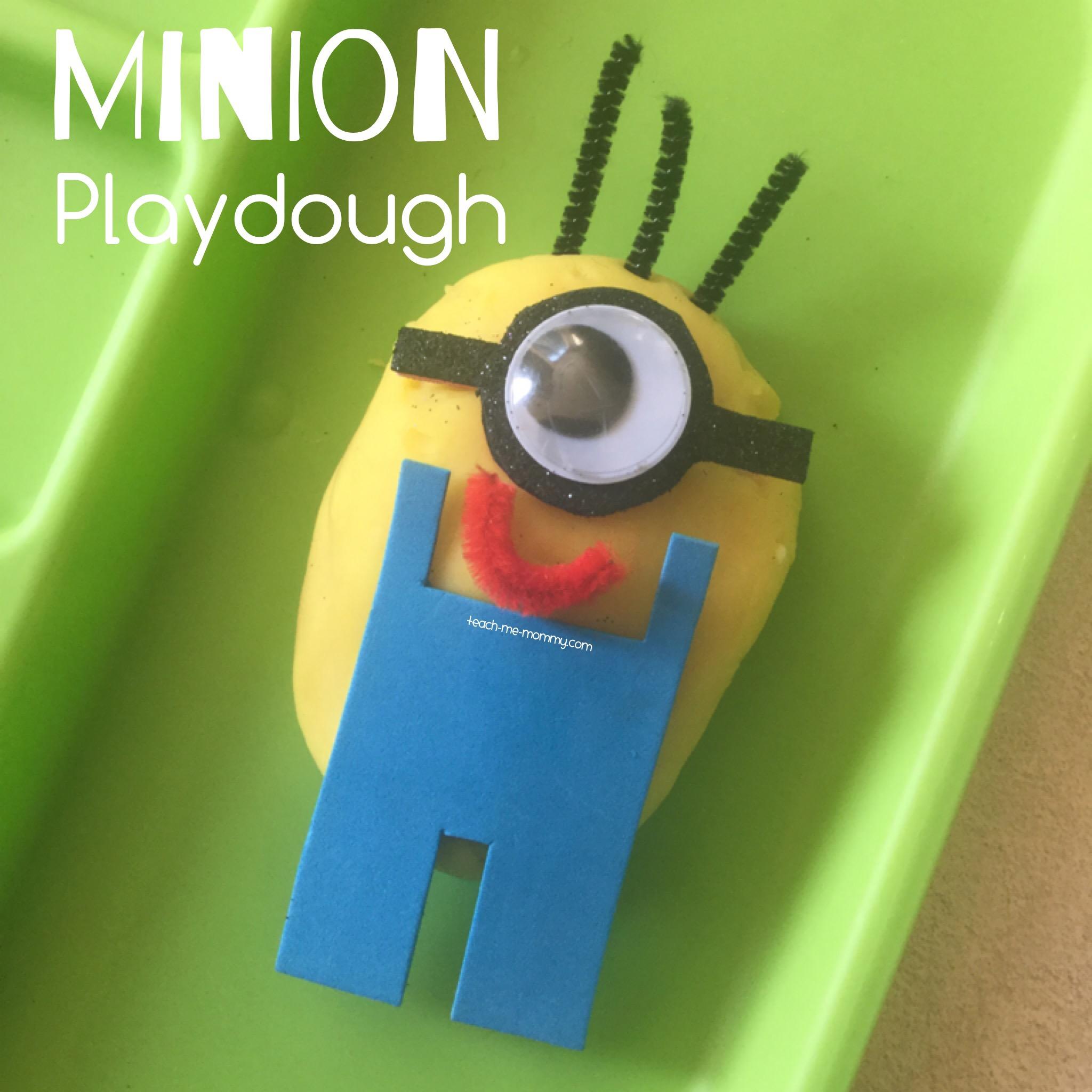 Minion Playdough