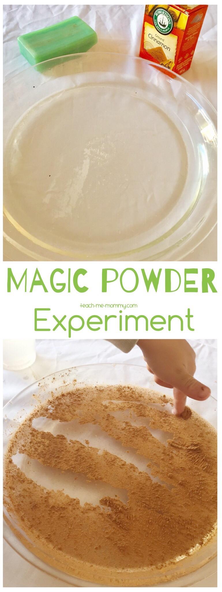 Magic Powder experiment