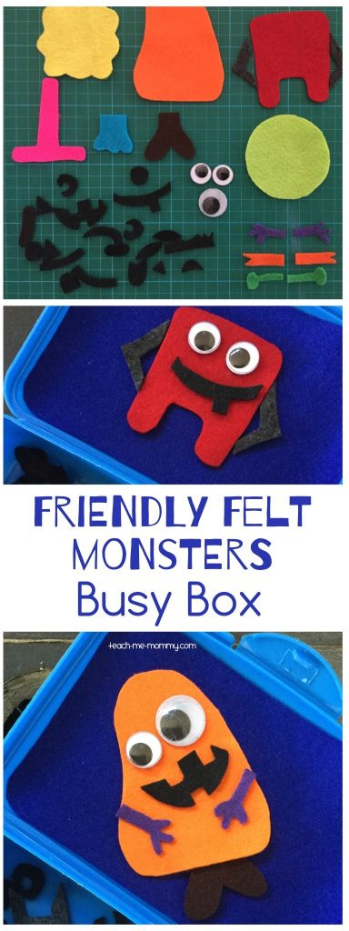 Felt monsters