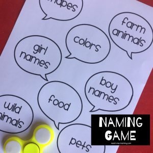 Naming Game