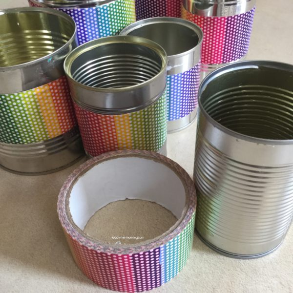 Tins and tape