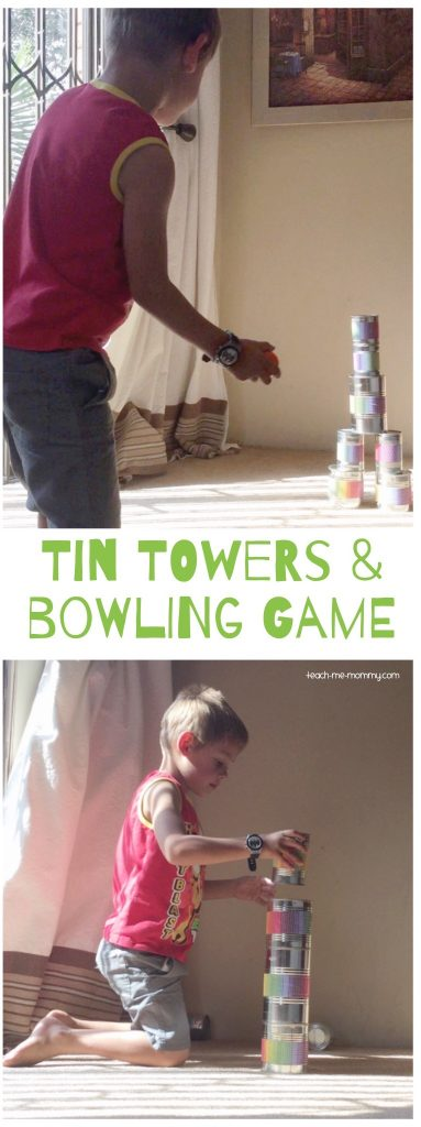 Tin Towers and bowling