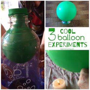 Experiments with balloons