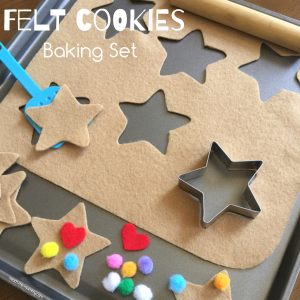 Felt cookies set