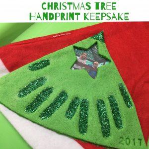Handprint Keepsake gift
