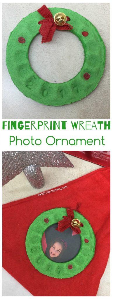 Fingerprint wreath