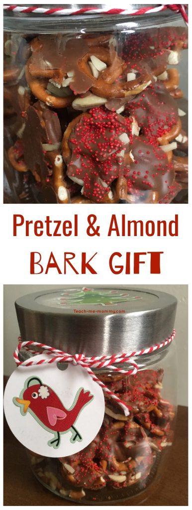Pretzel and almond bark