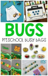 Bugs busy bags