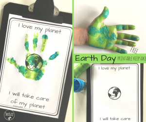 Earth Day keepsake