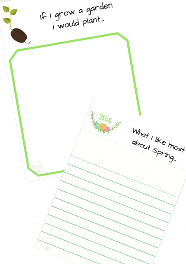 Free spring prompts