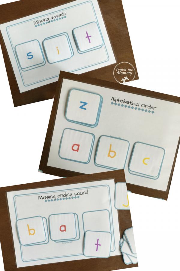 cards activities