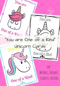 Unicorn Cards collage