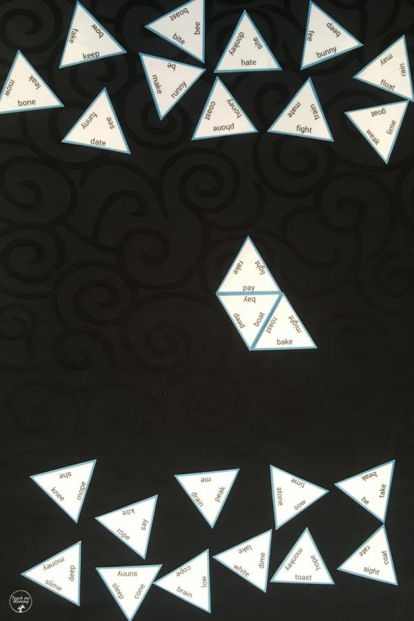 triangle setup