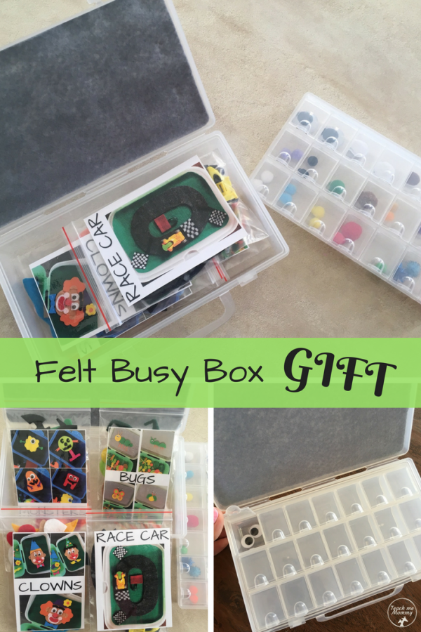 Busy Box Gift pin